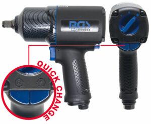 "BGS 9320 Pneumatisch slagmoersleutel (1/2"") | 1756 Nm-0"