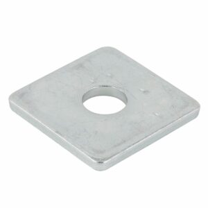 Vierkante sluitplaten DIN436 verzinkt - alle maten-0
