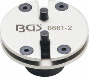 BGS 6661-2 Remzuiger-terugsteladapter | universeel | met 2 pennen-0