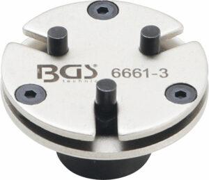 BGS 6661-3 Remzuiger-terugsteladapter | universeel | met 3 pennen-0