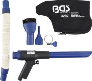 BGS 3292 Perslucht-zuig- / blaaspistool | omschakelbaar | 9-delig-0