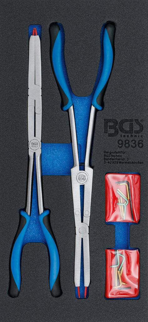 BGS 9836 Circliptangen met dubbele scharnieren | 345 mm-0