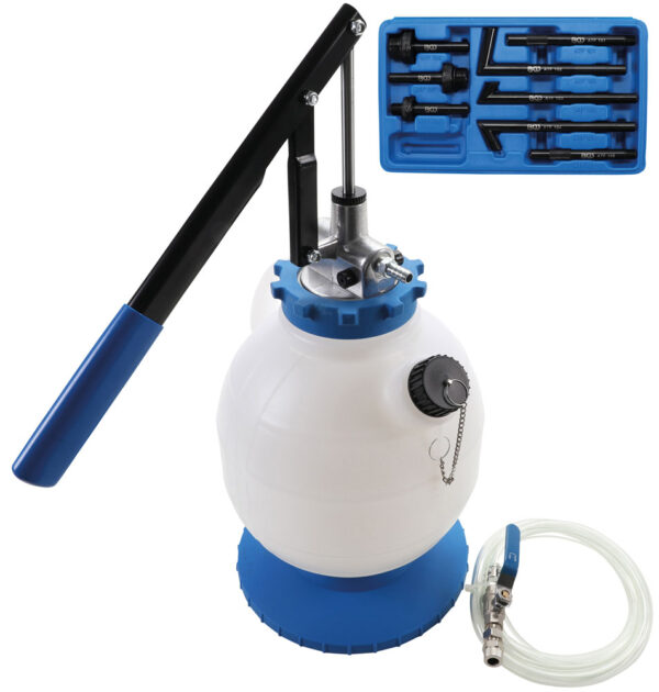 BGS 9992 Transmissieolie-vulapparaat met handpomp | 8 adapters | 7 l-0