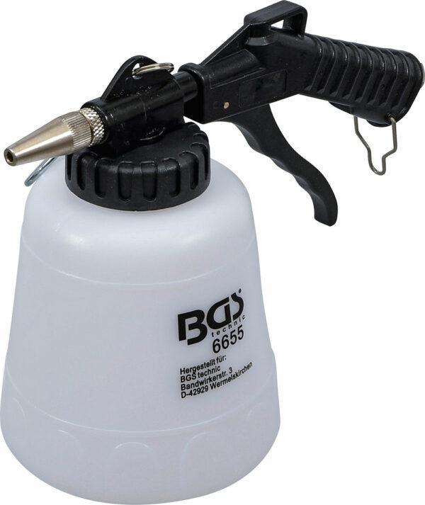 BGS 6655 Soda straalpistool op lucht | 1 liter-0