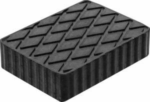 BGS 7007 Rubber blok voor hefbrug | 160 x 120 x 40 mm-0