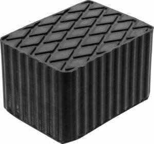 BGS 7008 Rubber blok voor hefbrug | 160 x 120 x 100 mm-0