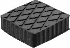 BGS 7037 Rubber blok voor hefbrug | 116.5 x 116.5 x 36.5 mm-0