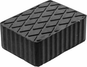 BGS 7038 Rubber blok voor hefbrug | 160 x 120 x 60 mm-0