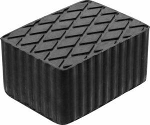 BGS 7040 Rubber blok voor hefbrug | 160 x 120 x 80 mm-0
