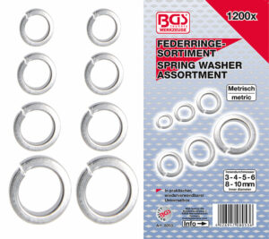 BGS 8053 Assortiment veerringen | 1200-delig-0