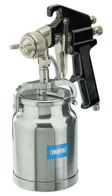 DRAPER D21526 Verfspuit met onderbeker | 1 liter-0