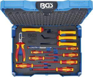 BGS 3355 VDE-tangen-/ schroevendraaierset | BGS systainer® | 13-delig-0