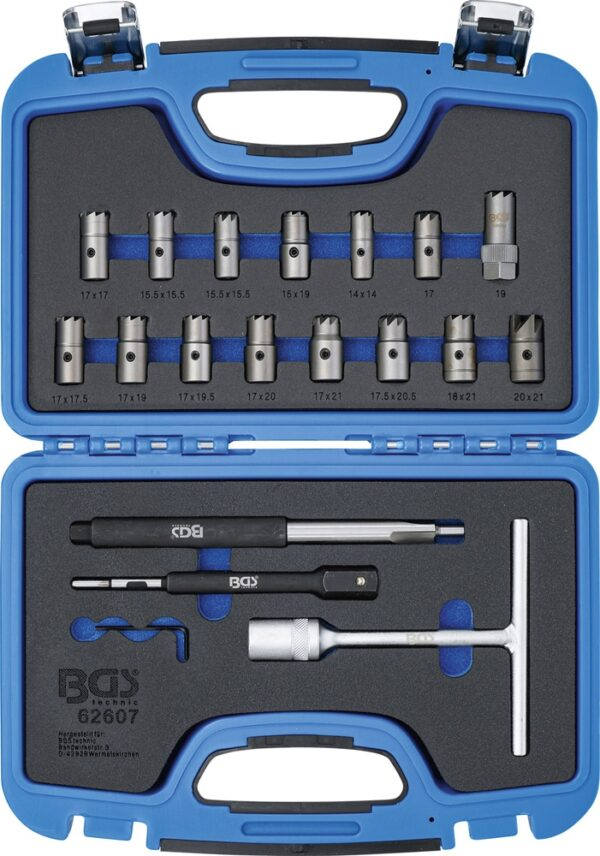 BGS 62607 Injector zitting reiniging set | 19-delig-0