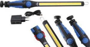 BGS 6660 COB-LED looplamp | LED koudwit & geel | extra plat-0