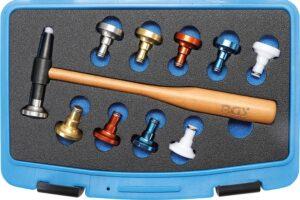 BGS 9768 Hamer set verwisselbare koppen | Ø 28 mm | 11-delig-0