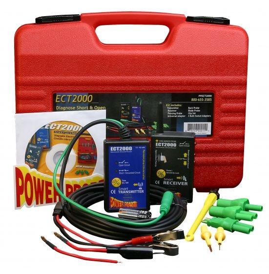 POWER PROBE PPECT2000 Kortsluitingstesterset-0