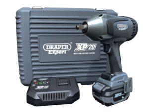 """DRAPER D99945 XP20 Accu slagmoersleutel 20V, 1/2""""-1000Nm, incl 1 accu-0"""