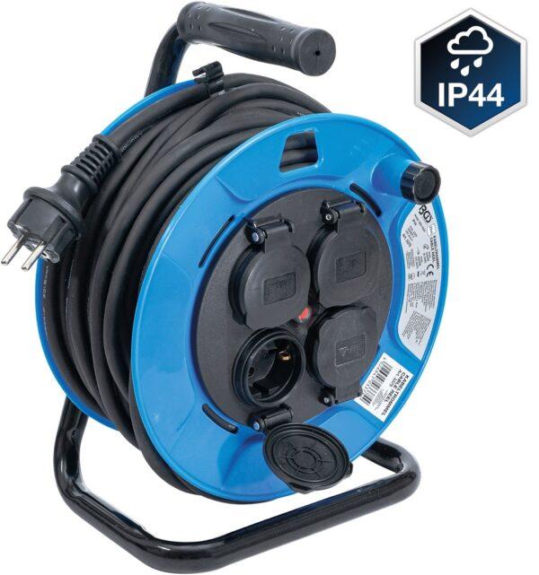 BGS 3375 Electrohaspel | 25 meter | 3 x 1.5 mm²-0