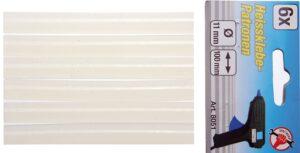 KRAFTMANN 8051 Lijmstaven voor lijmpistool | Ø 11 mm | 6 stuks-0