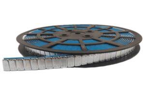 Plakgewichten op rol 1200 x 5 gram | Zilver-0