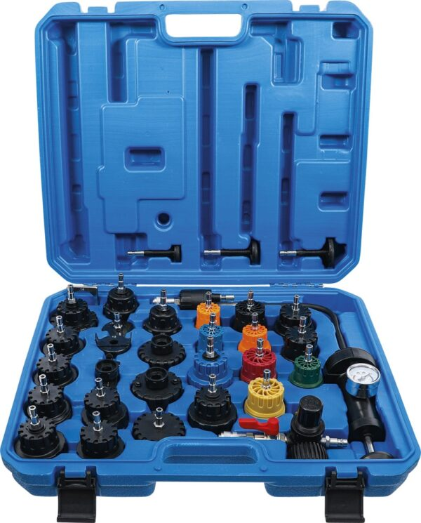 BGS 6867 Radiatordruk- en koelsysteemtester | 32-delig-0