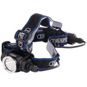 DRAPER D90064 Hoofdlamp Cree LED | Oplaadbaar | 900 lumen-0