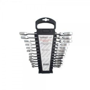 WT-8910 Steek- ringratelsleutels | Flexibel | 12-delig-0